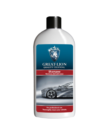 Great-Lion Shampoo - Concentrate ratio 1:100 dilution - PH Neutral Wax Safe - 500ml